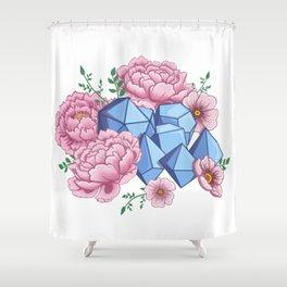Roll Like A Girl Shower Curtain