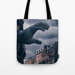 The Last Grasp Tote Bag