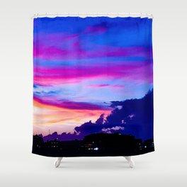 Hampton Sunset Shower Curtain
