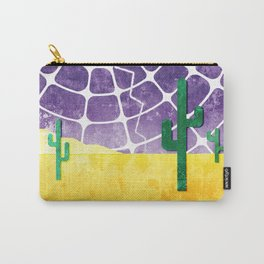 Stormy Desert Carry-All Pouch