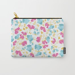Sweet pea pattern art Carry-All Pouch