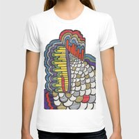 scales T-shirts featuring Cascading Scales by CharlieValintyne