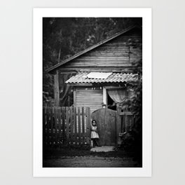 My Home Art Print