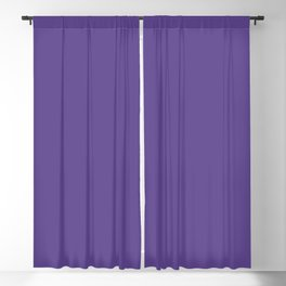 Solid Ultra Violet pantone Blackout Curtain