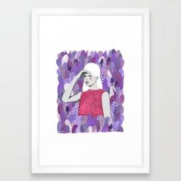 Dalila Framed Art Print