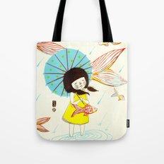 장마   Rainy Season Tote Bag