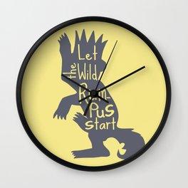 Let the Wild Rumpus Start Wall Clock