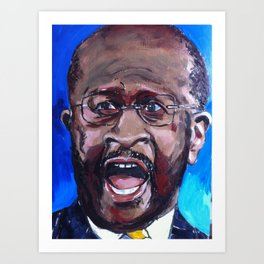 Taliban Republican: Herman Cain Art Print
