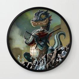 Zirquikz catches its first prey Wall Clock