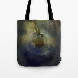 Where Are We Now - created on iPad Tote Bag