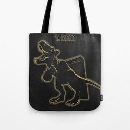 Electric (Prehistoric) Warrior Tote Bag