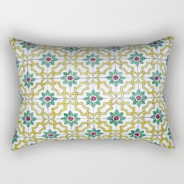 Portuguese Tiles 3 Rectangular Pillow