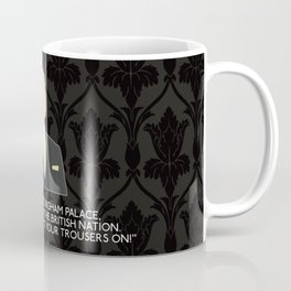 A Scandal in Belgravia - Mycroft Holmes Coffee Mug