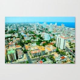 Habana Cityscape  Canvas Print