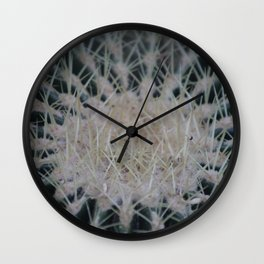 Cacti Spikes Wall Clock