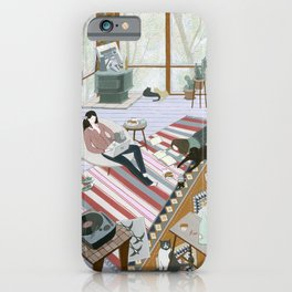 Sisters Room iPhone Case