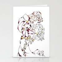 wizard Stationery Cards featuring Wizard by Party Moth