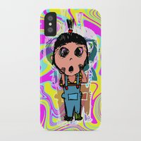 agnes cecile iPhone & iPod Cases featuring Agnes by Sean Chen
