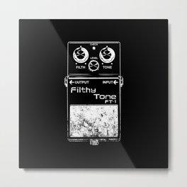 Filthy Tone Guitar Pedal Metal Print
