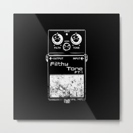 Filthy Tone Guitar Pedal Metal Print