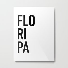 Floripa Metal Print