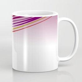 zebra wild lines PINK ETHNIC Coffee Mug