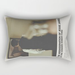 Assassination of Jesse James by the Coward Robert Ford Minimal Movie Poster No 03 Rectangular Pillow