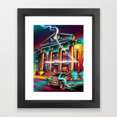 Hill Valley Framed Art Print