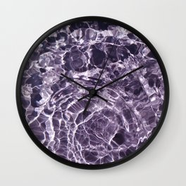 Violaceous Soul Wall Clock