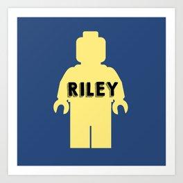 Riley Block Art Print
