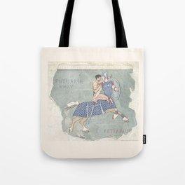 Centaurus and Retiarius Tote Bag