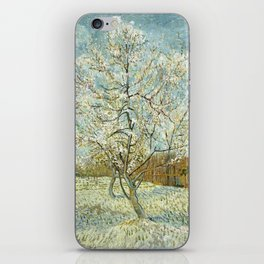 Vincent Van Gogh Peach Tree In Blossom iPhone Skin