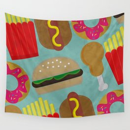 Fast Food Wall Tapestry