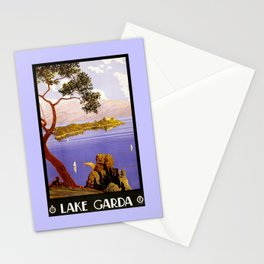 1920 Lake Garda Italy Stationery Cards