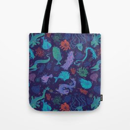 Creatures Of the Deep Sea Tote Bag