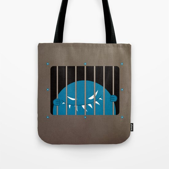 Evil Monster Kingpin Jailed Tote Bag