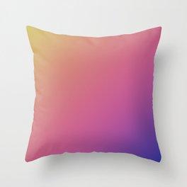 Fade pattern Throw Pillow