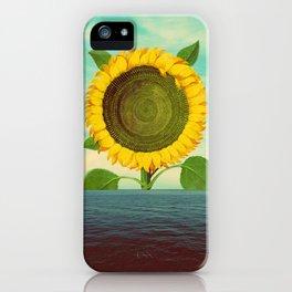 Sun in the ocean iPhone Case