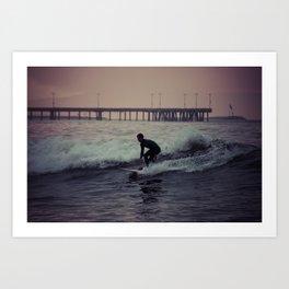Venice Surf Art Print