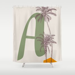 A Shower Curtain