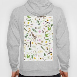 Girly country chic green pink brown cute flowers Hoody