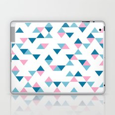 Triangles Blue and Pink Laptop & iPad Skin