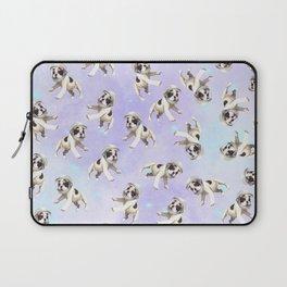 Pastel Space Pups Laptop Sleeve
