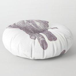 BALLPEN ELEPHANT 8 Floor Pillow