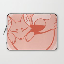 Teacup Sencha Fox- Tangy Orange Laptop Sleeve