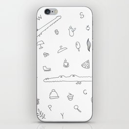 Crocodiles and other stuff iPhone Skin