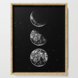 Moon Phases Serving Tray