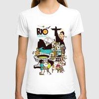 rio de janeiro T-shirts featuring RIO DE JANEIRO by Valter Brum