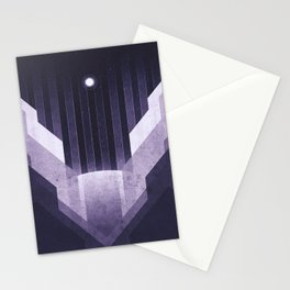 Dione - The Ice Cliffs Stationery Cards