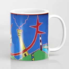 The 25th  anniversary of the fall of the Berlin Wall - (artist unknown), Photo by Chicca Besso Coffee Mug